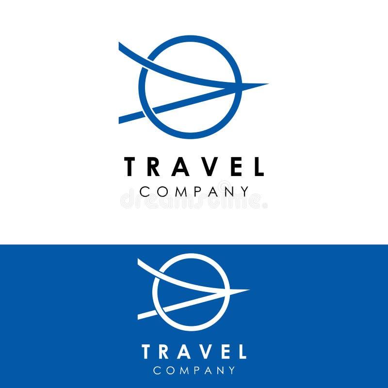 旅行商标模板,假日设计传染媒介,象 向量例证