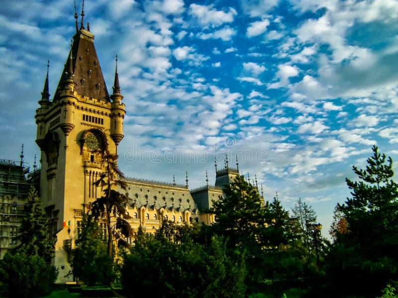 旅行在东欧,在罗马尼亚北部 免版税图库摄影