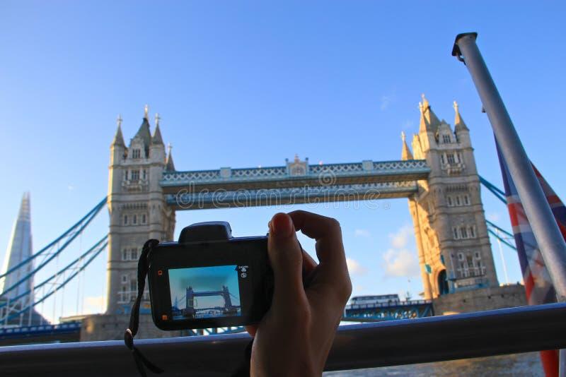 旅行在伦敦,摄影 免版税库存照片