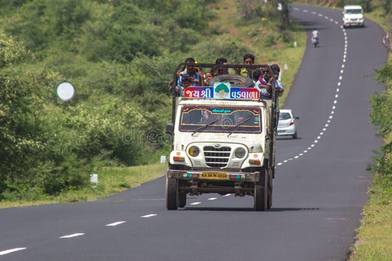 旅行在印度农村 免版税库存照片