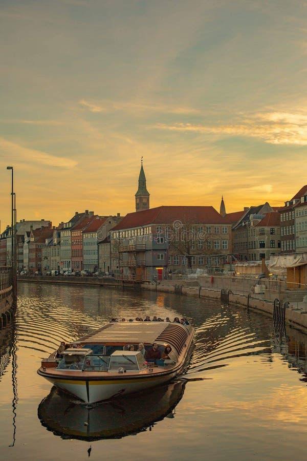 旅行在哥本哈根 库存图片