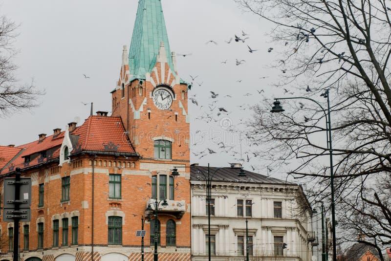 旅行在波兰 免版税图库摄影