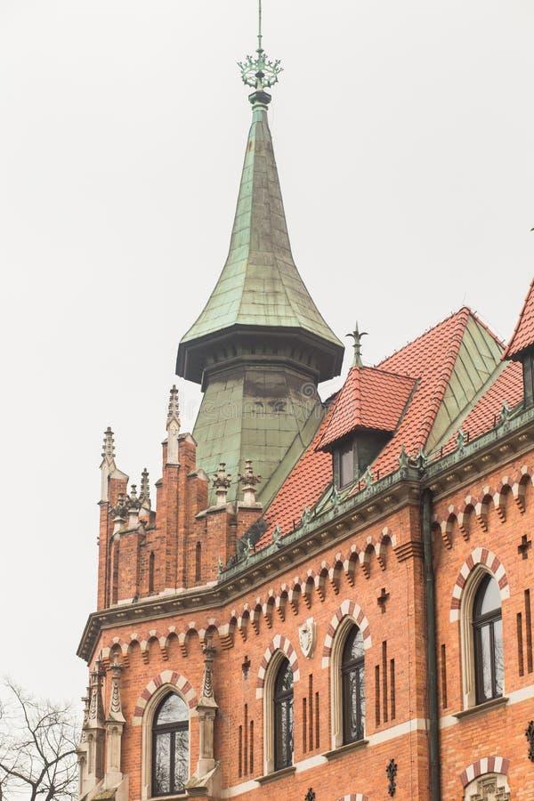 旅行在波兰 免版税库存照片