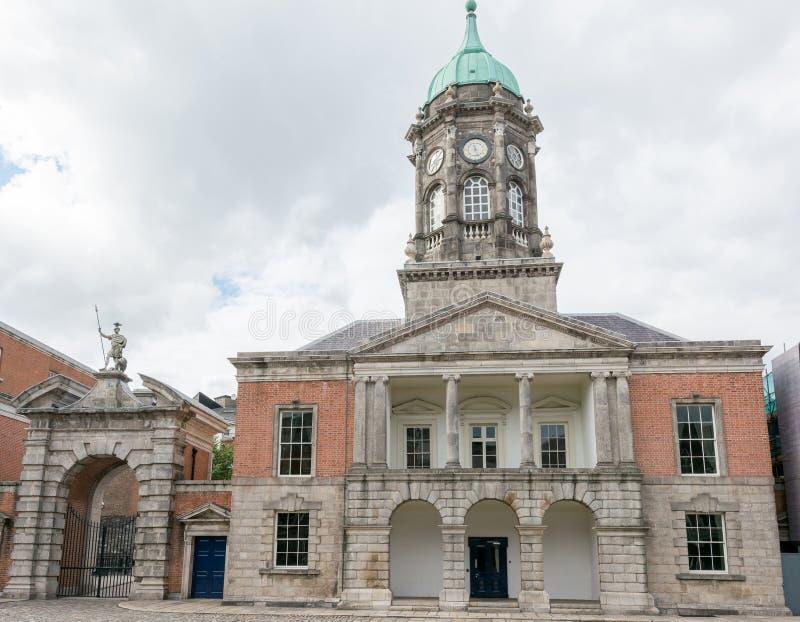 旅行在爱尔兰 都伯林,城堡 库存图片
