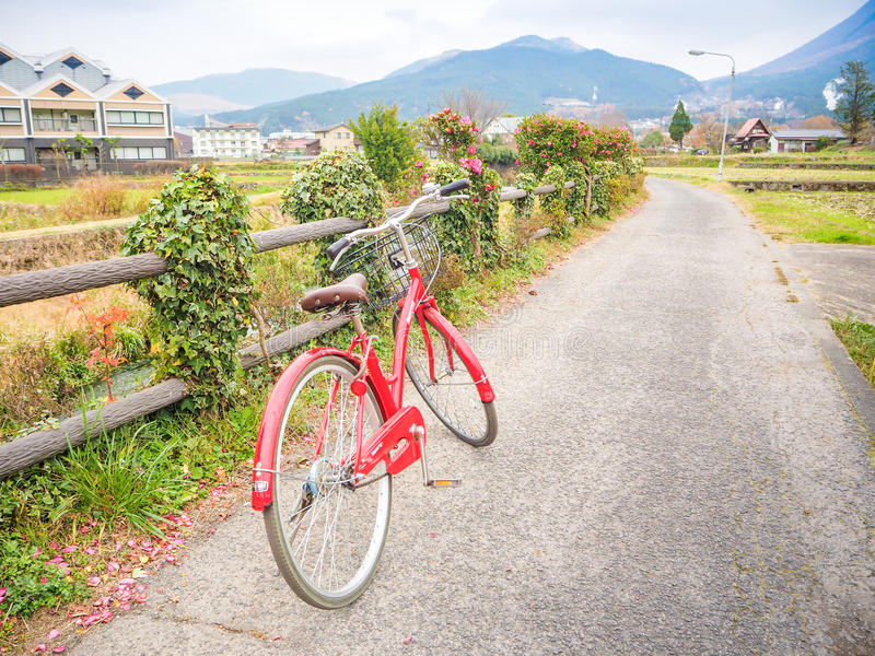 旅行在Yufuin 免版税库存图片