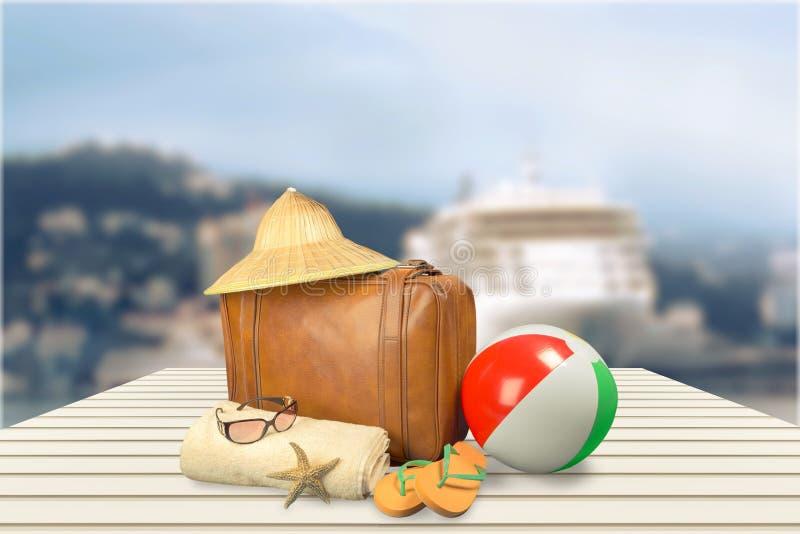旅行手提箱 库存图片