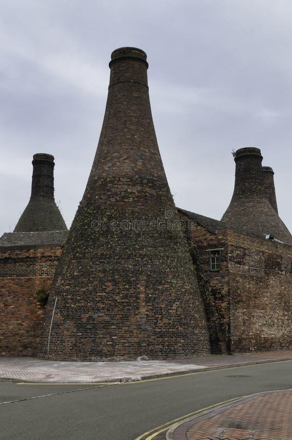 旅行提包瓦器博物馆,特伦特河畔斯托克 免版税库存图片