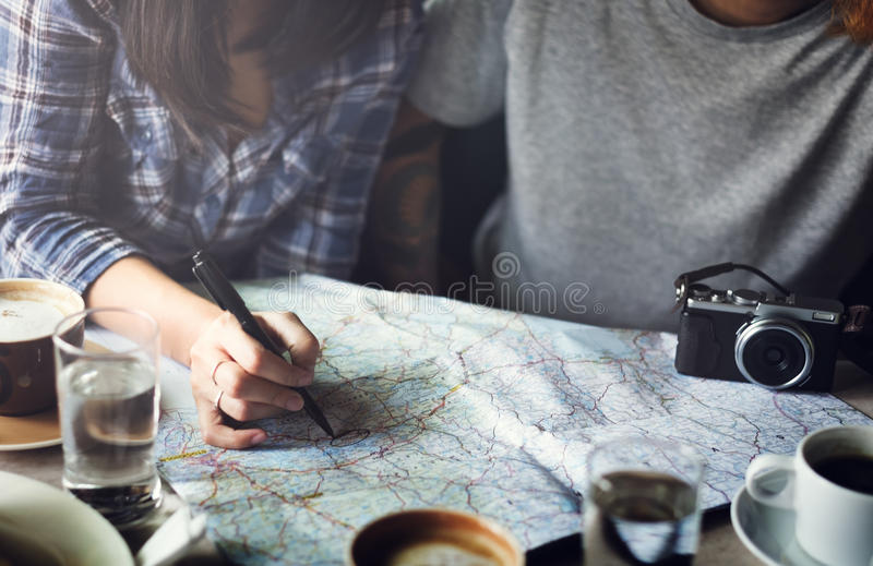 旅行旅游假日假期概念 免版税库存照片
