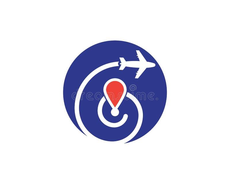旅行更加快速的象传染媒介例证事务 向量例证
