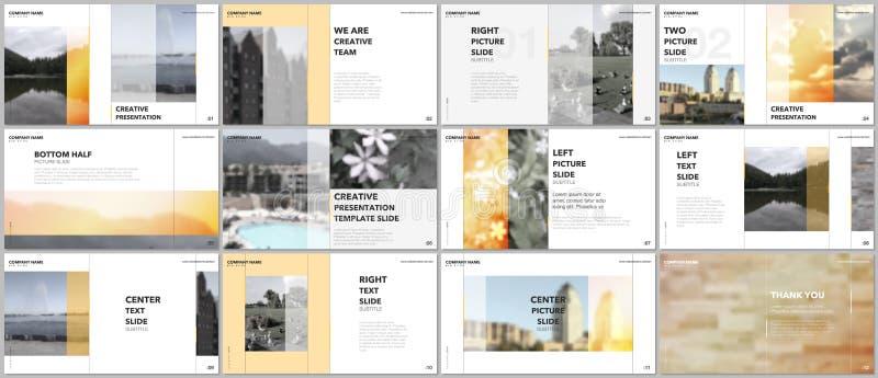 旅行概念介绍设计,股份单与图表元素的传染媒介模板在白色 多用途模板 皇族释放例证