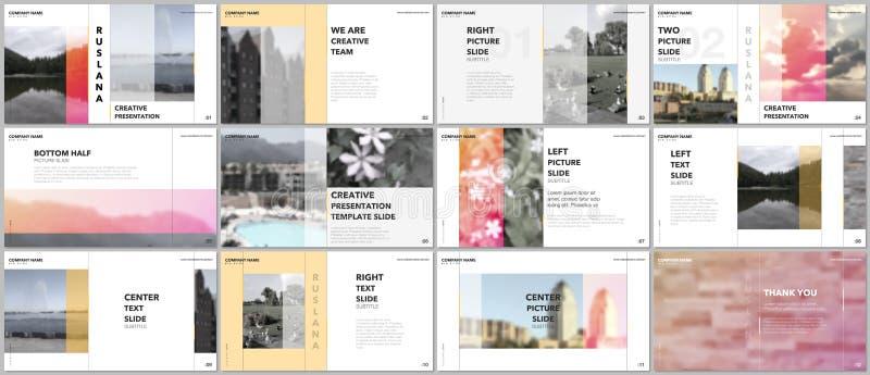 旅行概念介绍设计,股份单与图表元素的传染媒介模板在白色 多用途模板 库存例证