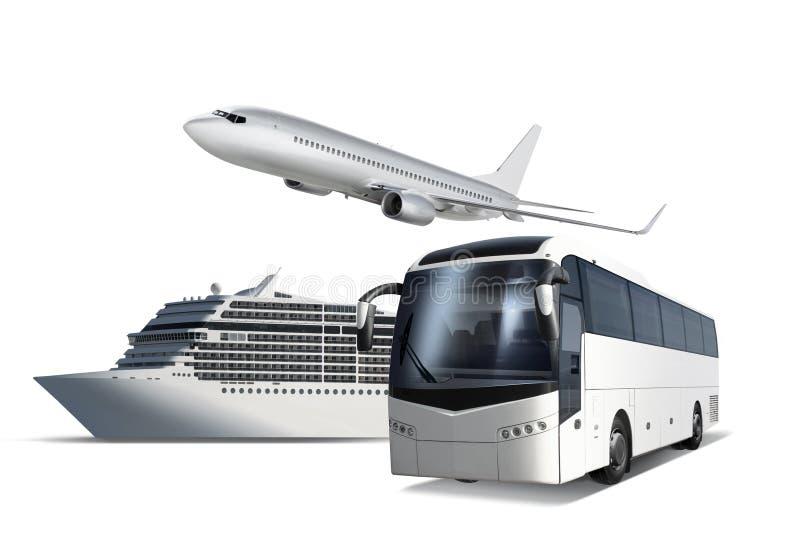 旅行的运输 免版税库存照片