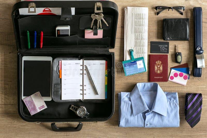 旅行的组织商人 库存照片