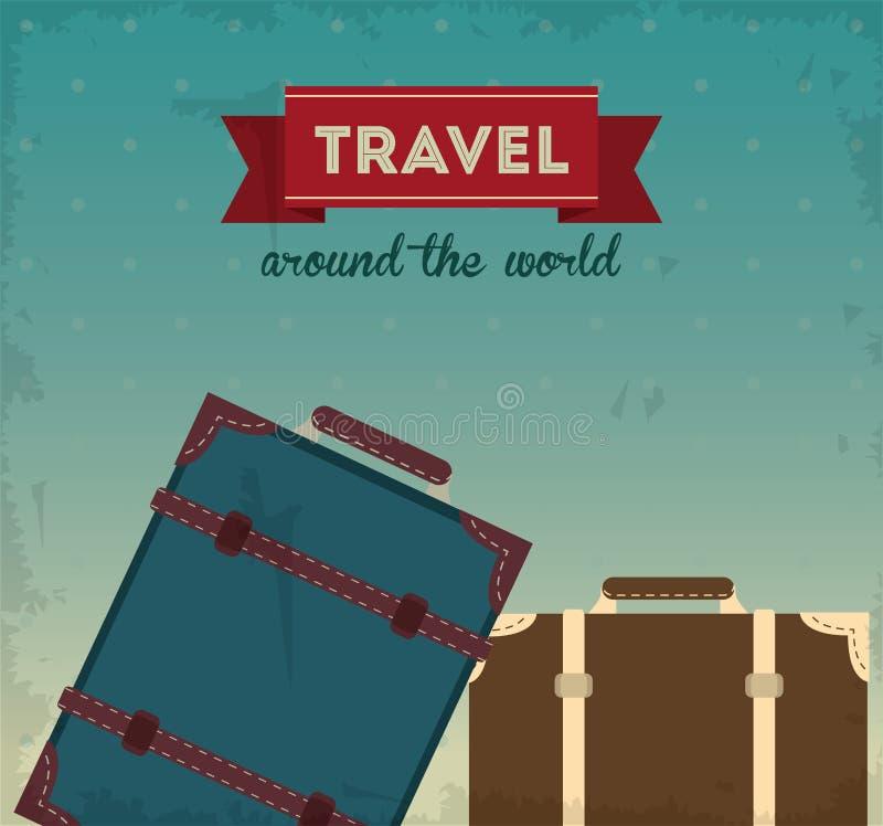 Download 旅行设计 旅游业象 鸟逗人喜爱的例证集合葡萄酒 向量例证. 插画 包括有 例证, 冒险家, 放松, 减速火箭 - 72372872