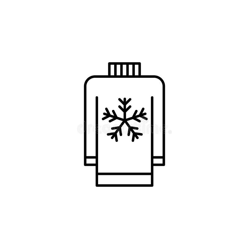 旅行,雪,云彩概述象 旅行例证的元素 标志和标志象可以为网,商标,流动应用程序,UI使用 皇族释放例证
