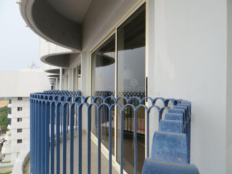 旅馆内部在雅加达 免版税库存图片