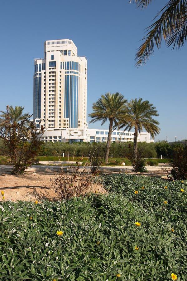 旅馆卡塔尔 库存图片