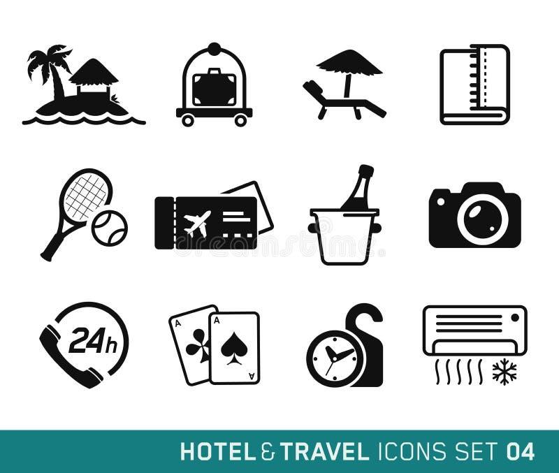 旅馆和旅行 库存例证