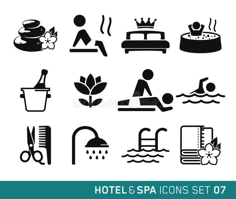 旅馆和旅行 向量例证