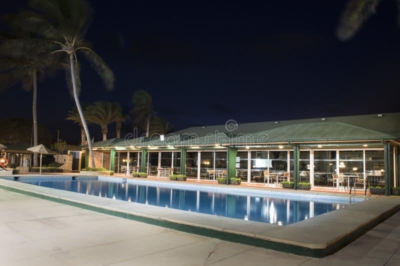 旅馆在圣玛丽亚-佛得角-非洲 免版税库存照片