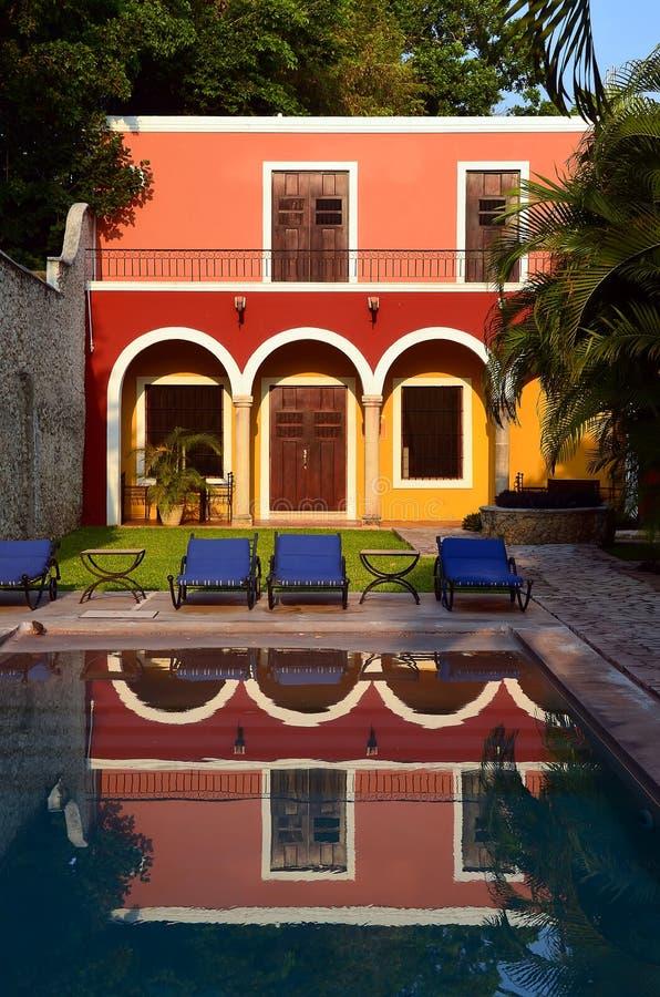 旅馆在墨西哥 免版税库存图片