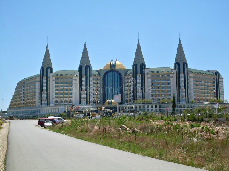 旅馆在安塔利亚,土耳其 图库摄影