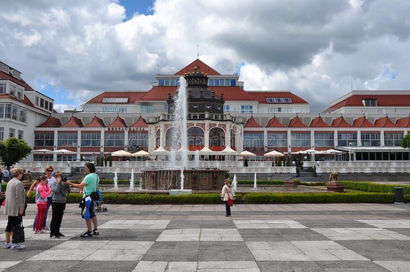 旅馆在索波特 免版税图库摄影