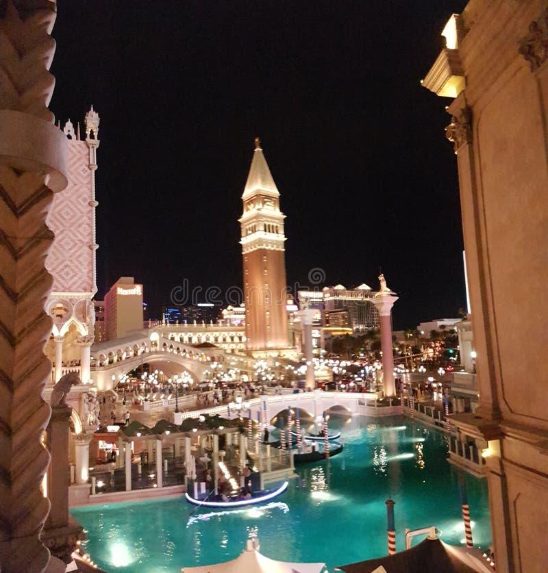 旅馆威尼斯式的拉斯维加斯 库存照片