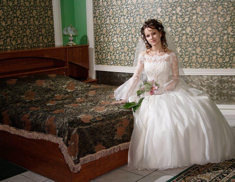旅馆婚礼 免版税图库摄影