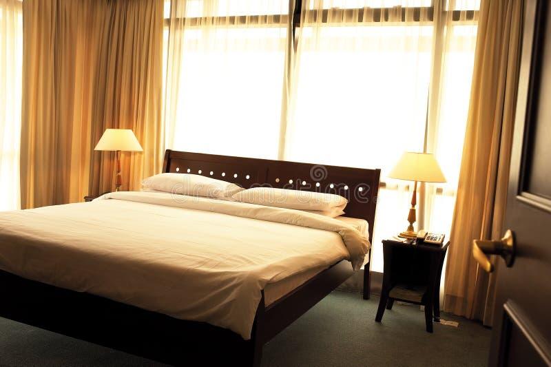 旅馆客房 免版税库存照片