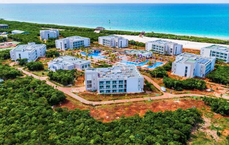 旅馆建设中古巴北钥匙的 库存图片