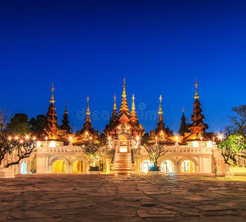 旅馆的泰国古老样式 图库摄影