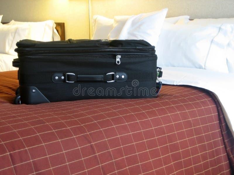 旅馆皮箱空间 免版税库存图片