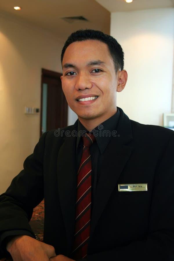 旅馆经理监督员 免版税库存照片