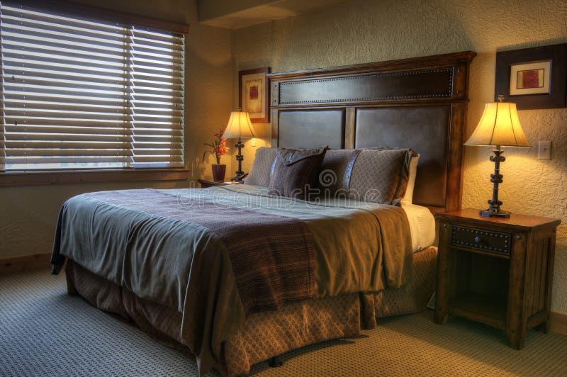 旅馆豪华空间 库存图片
