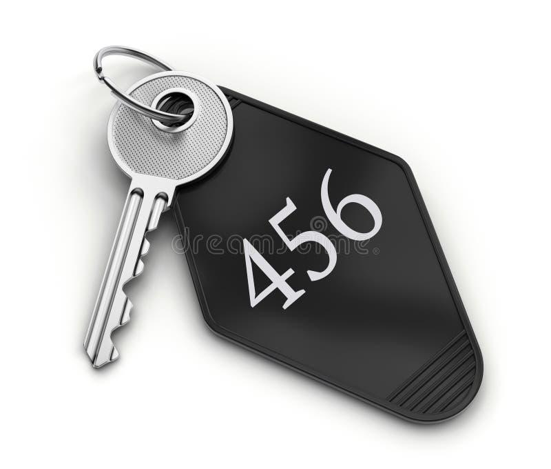 旅馆钥匙 向量例证