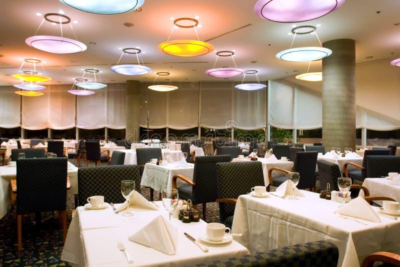 旅馆餐馆 免版税库存图片
