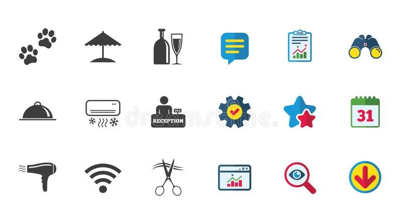 旅馆,公寓为象服务 wifi标志图片