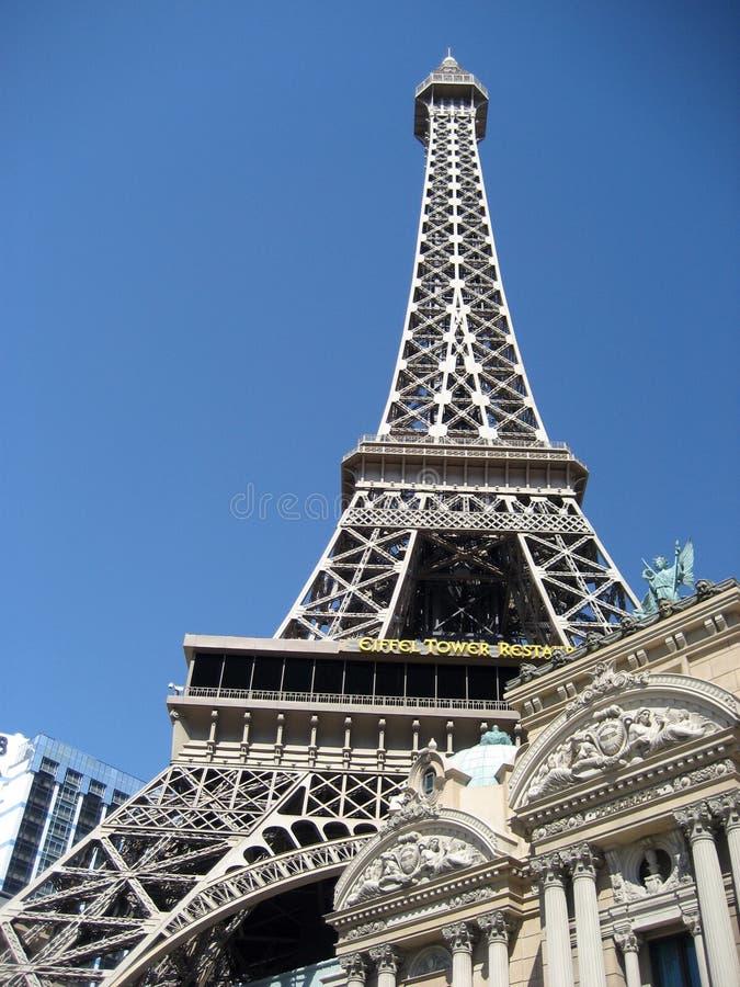 旅馆巴黎在拉斯维加斯 免版税库存照片