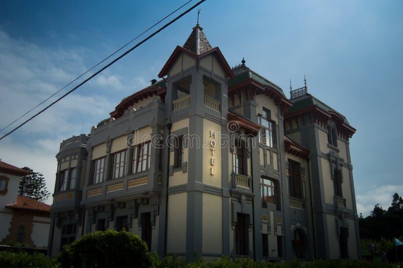 旅馆de里瓦德塞利亚,阿斯图里亚斯 库存照片