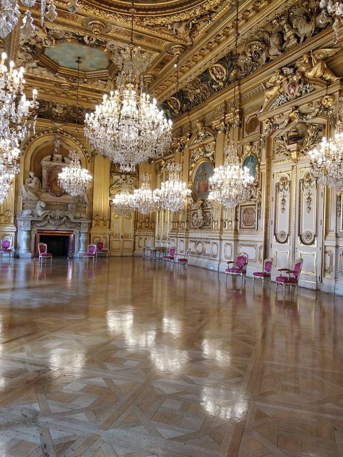 旅馆de ville利昂 免版税图库摄影