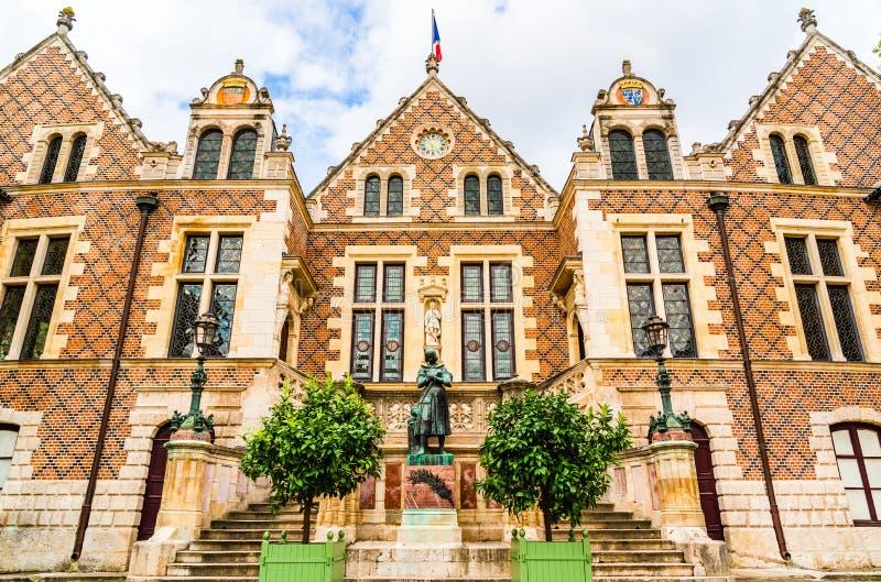 旅馆Groslot在奥尔良,法国 库存图片