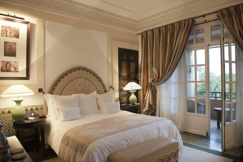 旅馆La Mamounia,马拉喀什 免版税库存图片