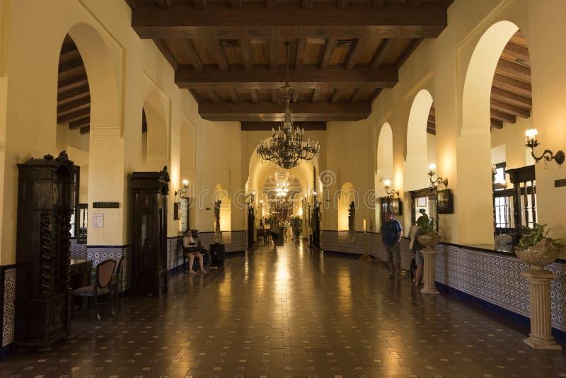 旅馆Nacional 免版税库存图片
