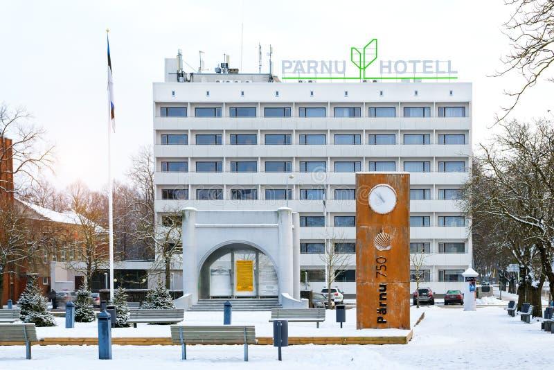 旅馆Parnu在爱沙尼亚 免版税库存图片