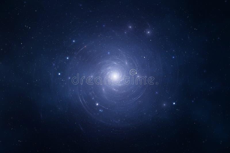 旋涡星云 库存例证