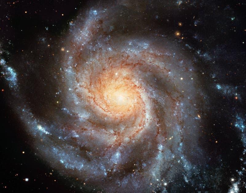 旋涡星云 库存图片