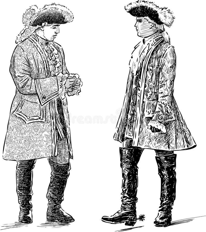Download 贵族谈话 向量例证. 插画 包括有 成人, 帽子, 反气旋, 痛饮, 草图, 阁下, 富有, 大公, 鞋带 - 72362963