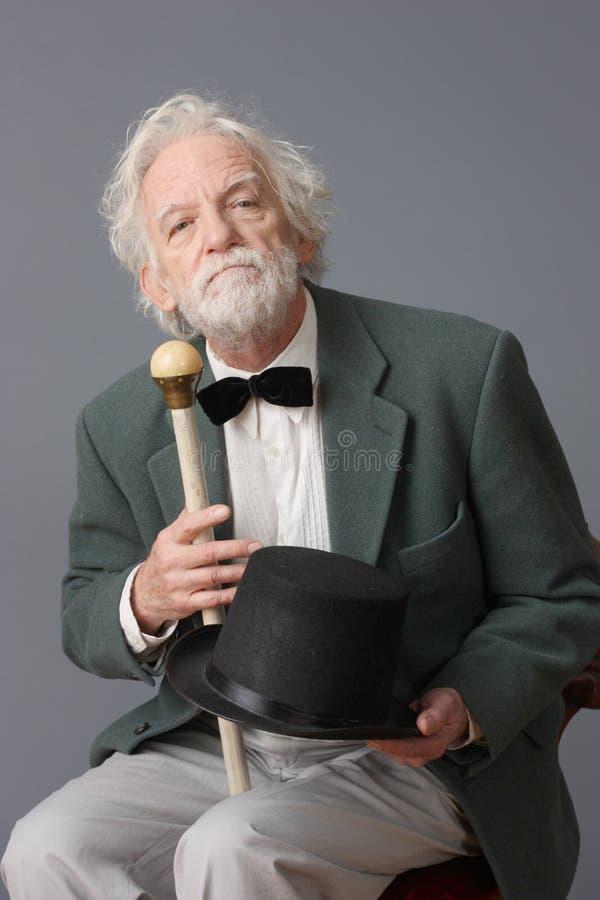 年迈的人 免版税图库摄影