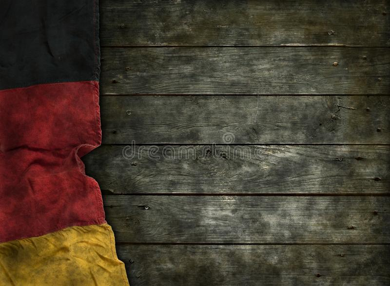 旗子德国 库存图片